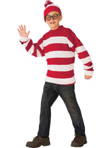 Kids Deluxe Where's Waldo Costume