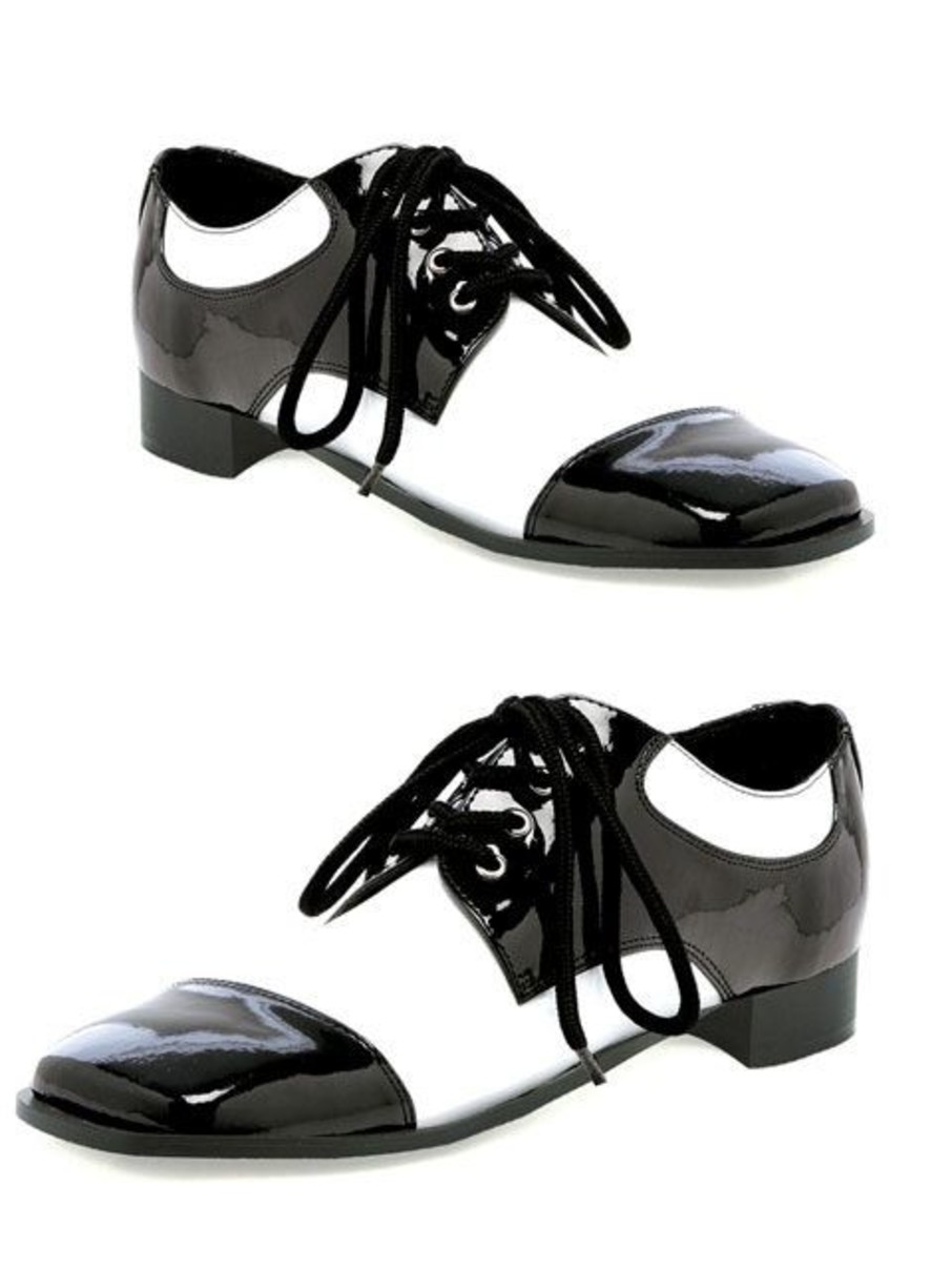 View larger image of White And Black Oxford Shoe For Men