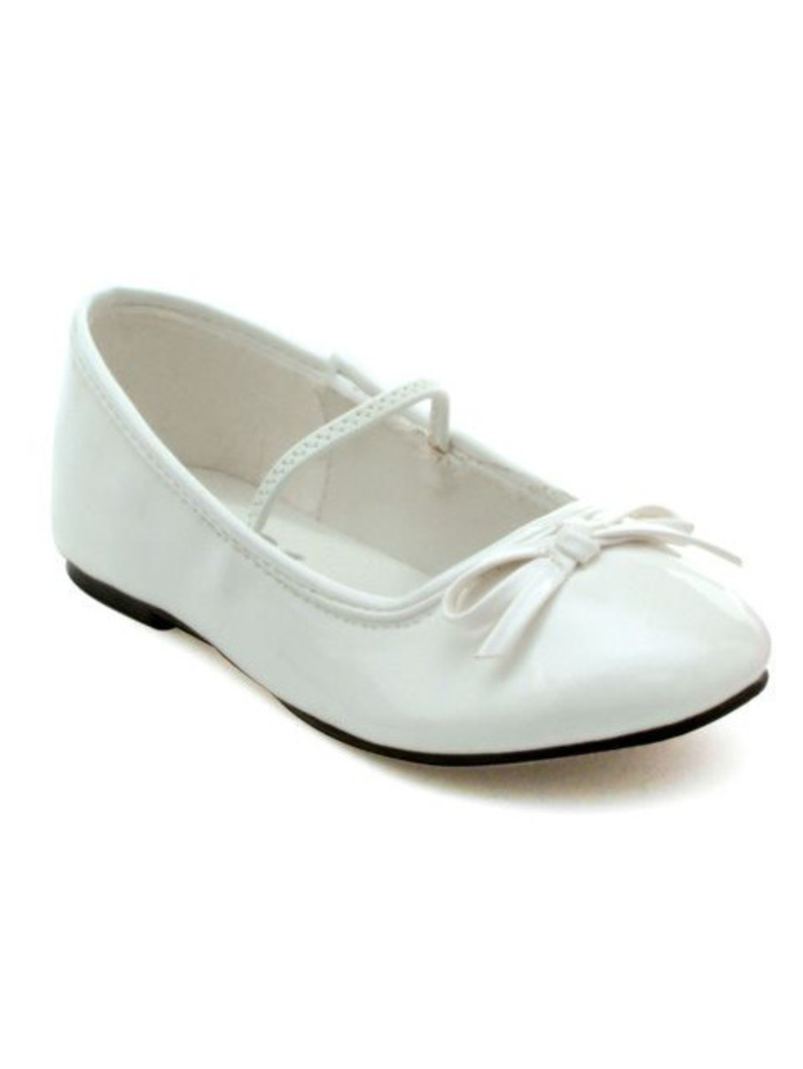 View larger image of White Ballet Slipper Child