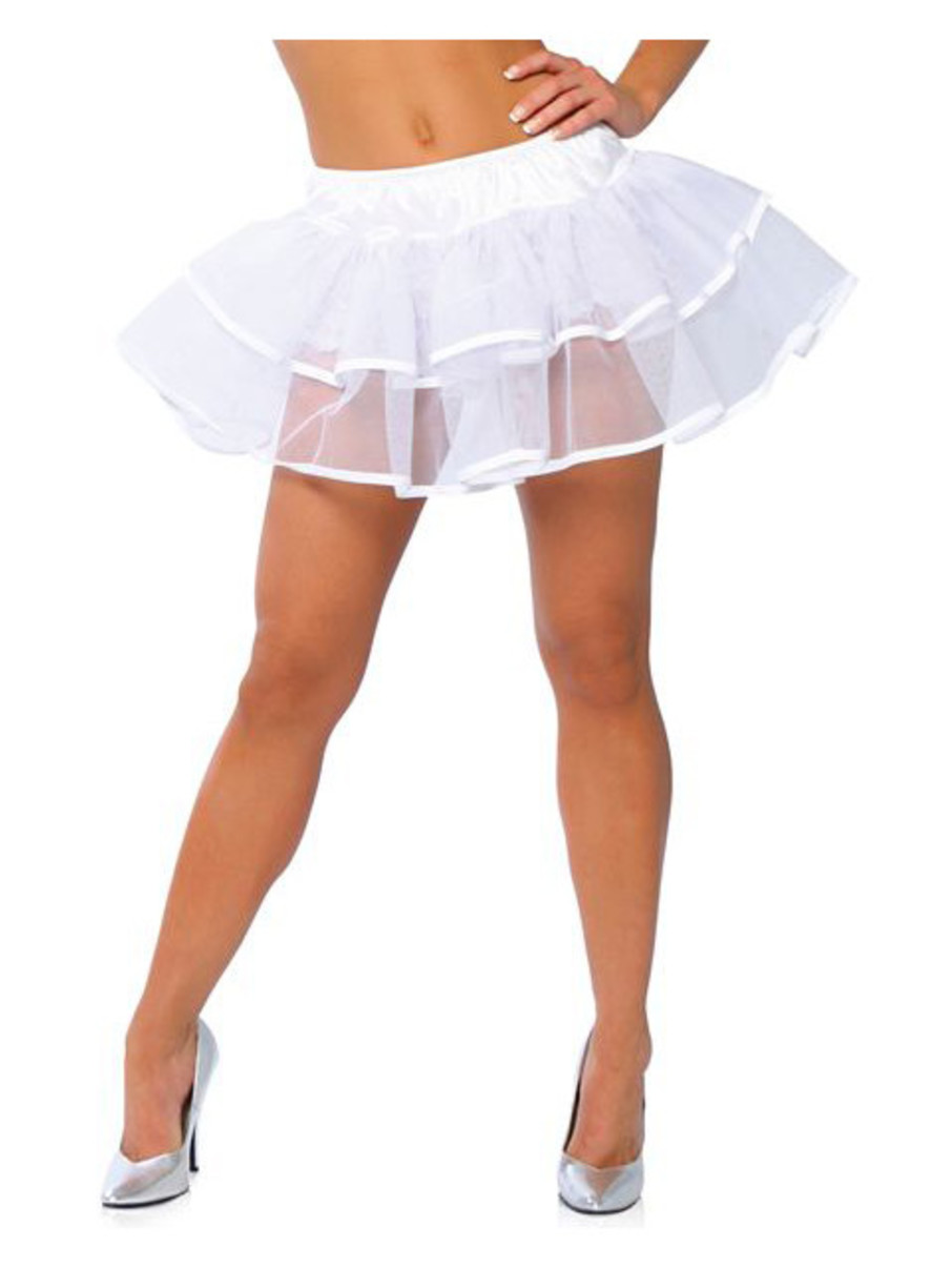 View larger image of White Double Layer Petticoat Adult