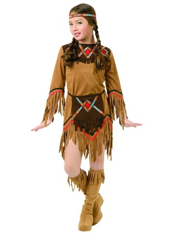 White Dove Native American Girl Costume