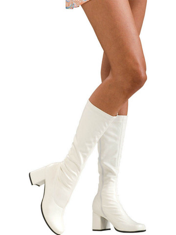 Go-Go Boots - White - Adult