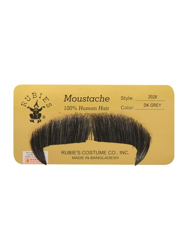 Winchester Moustache Accessory - Dark Grey