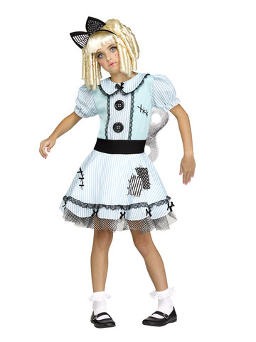 Wind-Up Doll Costume for Girls