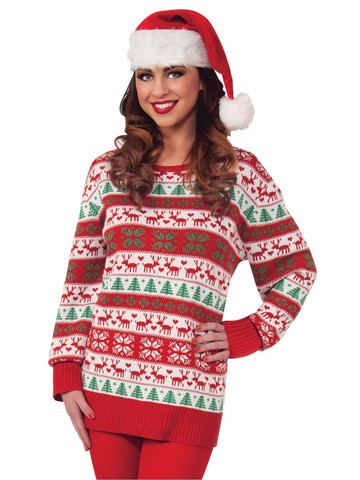Snowscape Holiday Sweater