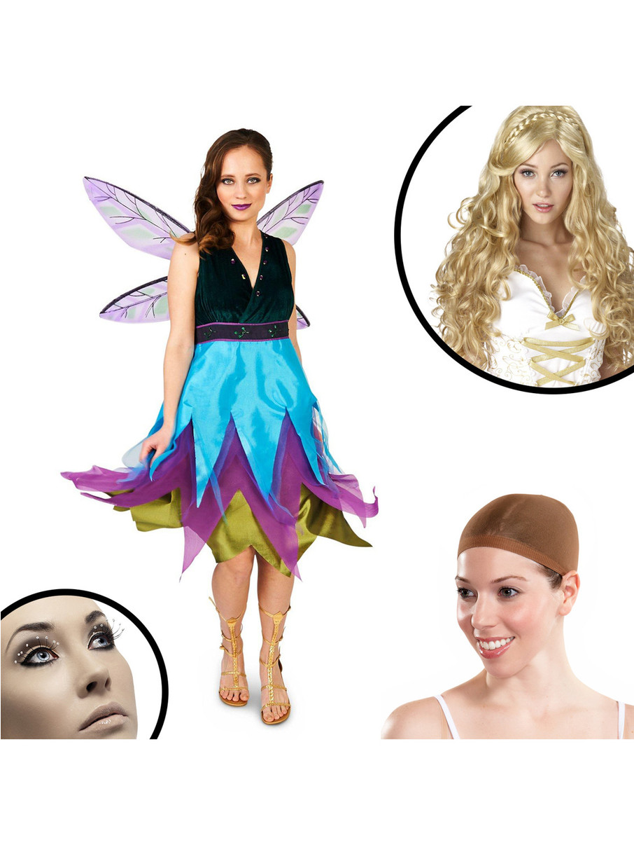 View larger image of Witching Hour Dragonfly Adult Costume Kit