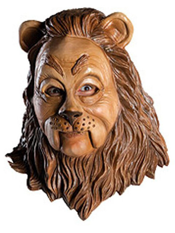 Wizard Of Oz Deluxe Cowardly Lion Mask