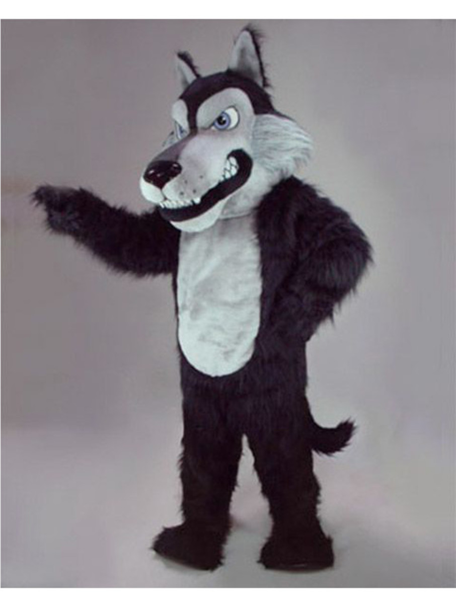 View larger image of Wolf Mascot Costume