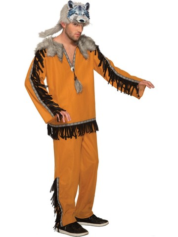 Mens Wolf Spirit Costume