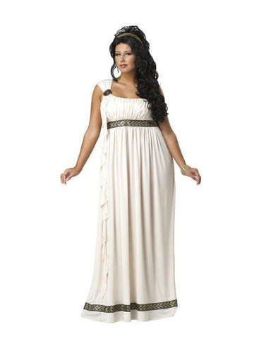 Women Plus Size Olympic Goddess Costume