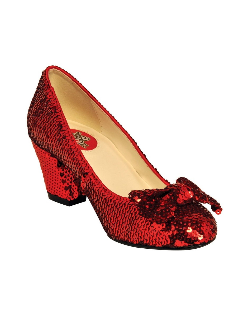View larger image of Dorothy 2 Red Pump with Bow