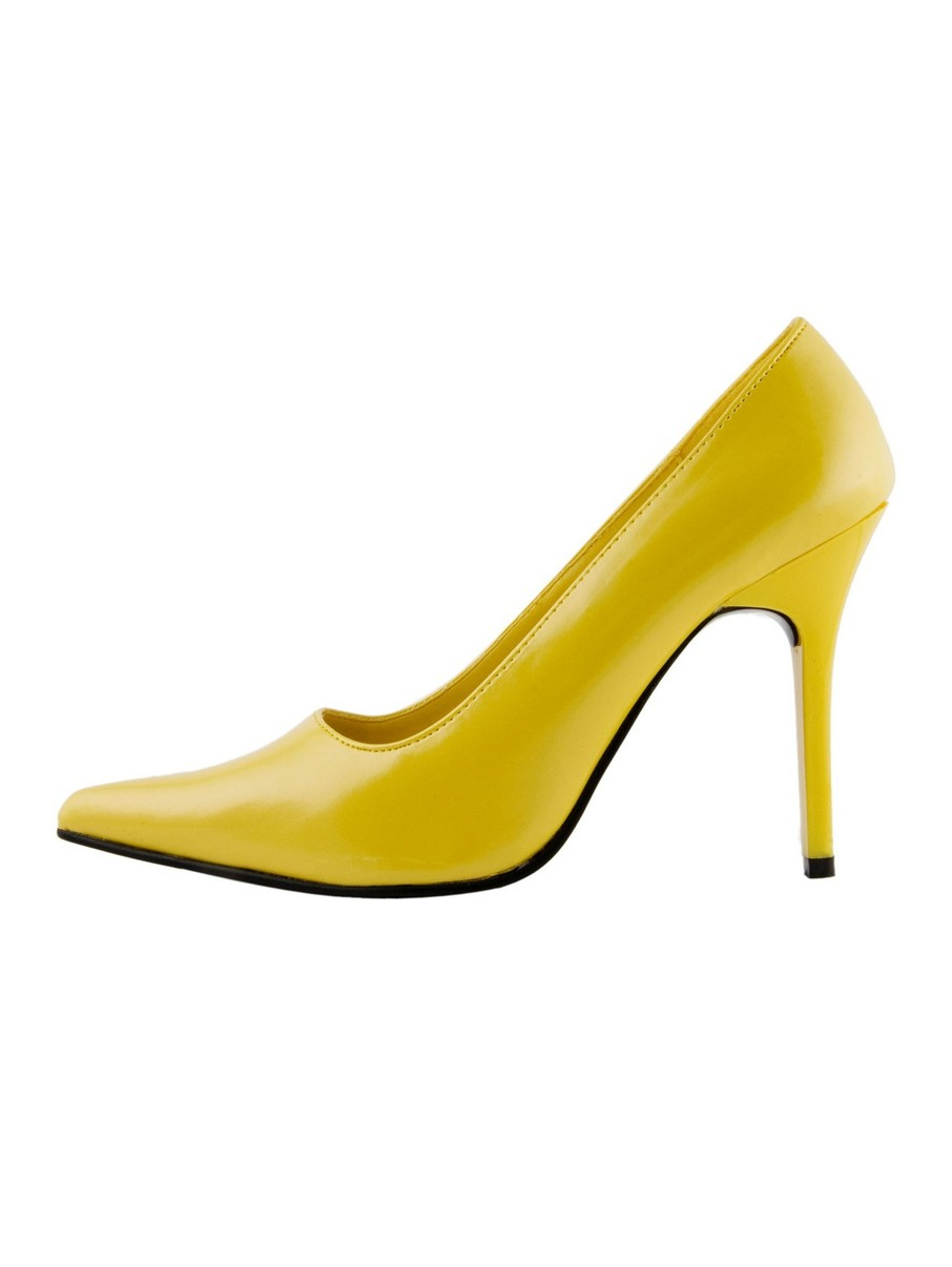 View larger image of Classic Plain 4 Yellow Pump