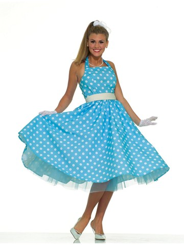 50's Prom Dress Costume for Women