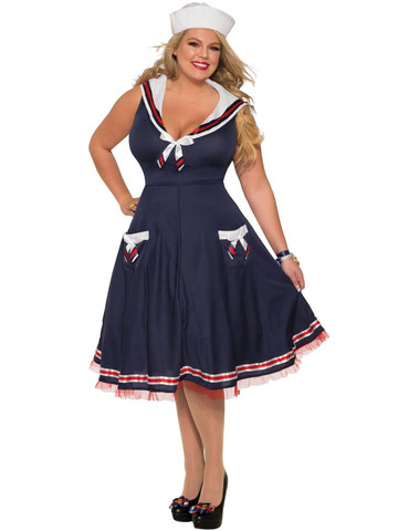 Women's Navy Dream Costume