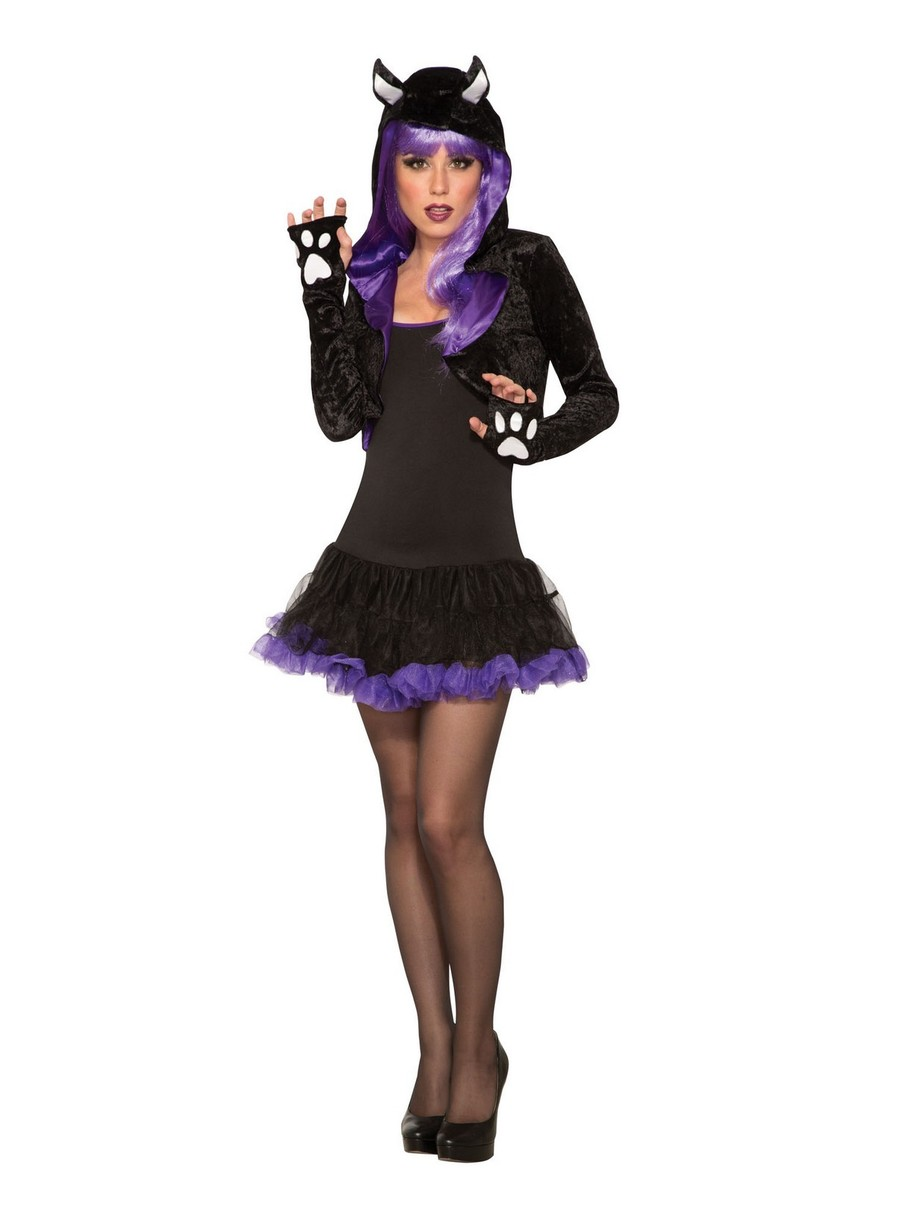 View larger image of Women Black Cat Shrug Costume Accesory