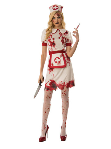 Womens Bloody Nurse Costume
