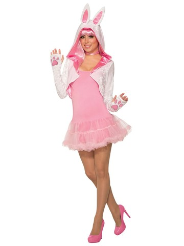 Womens Bunny Shrug Costume Accesory