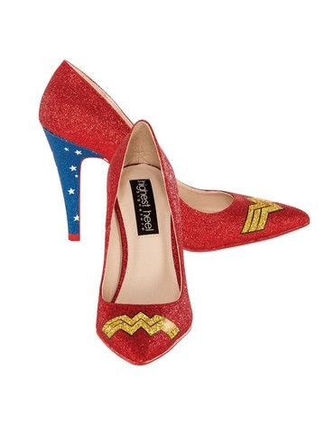Wonder Woman Classic Glitter Pump