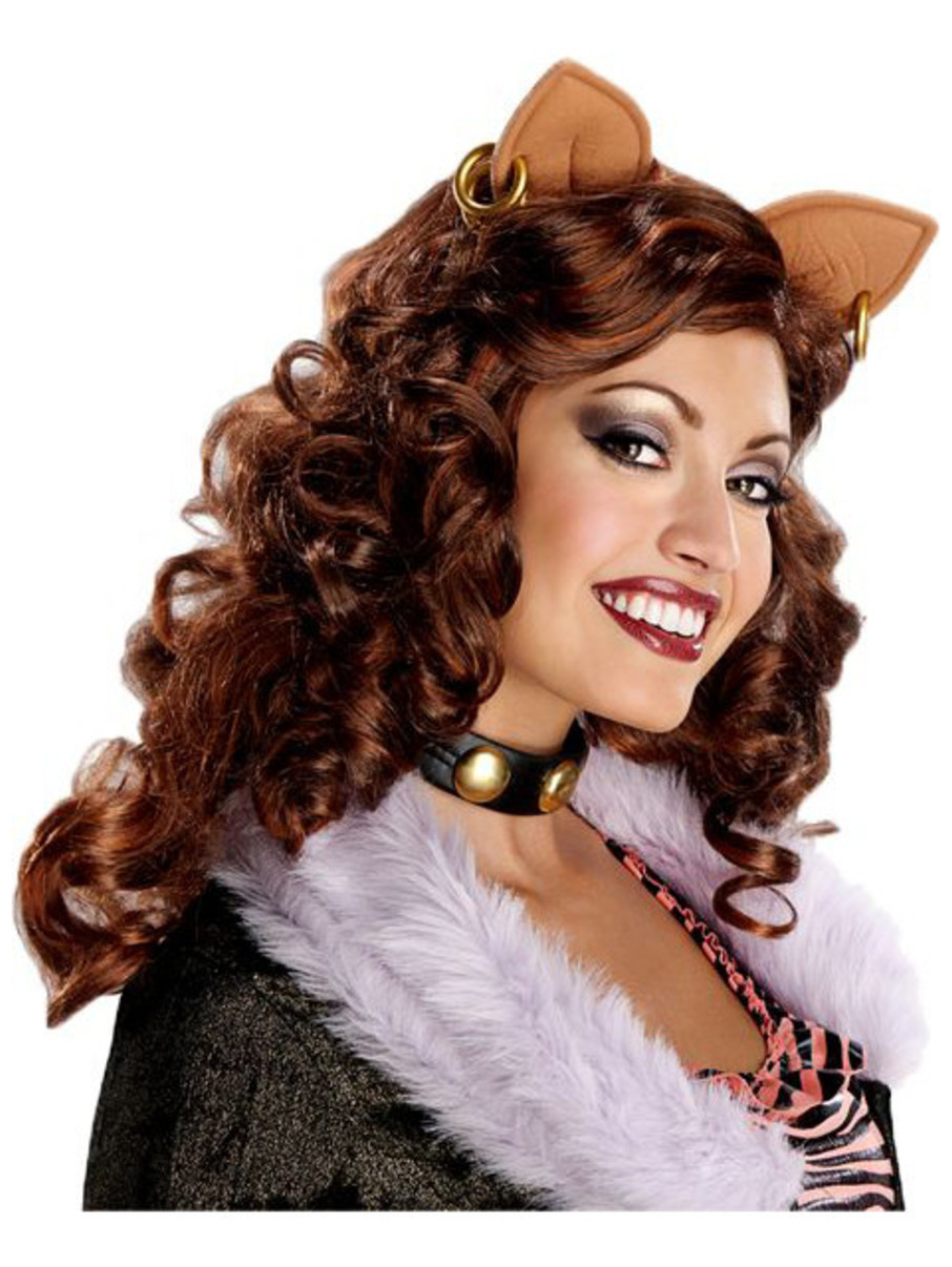 View larger image of Women's Clawdeen Wolf Adult Wig