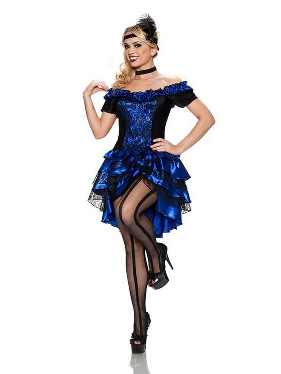 View larger image of Womens Dance Hall Queen Adult Classic Costume
