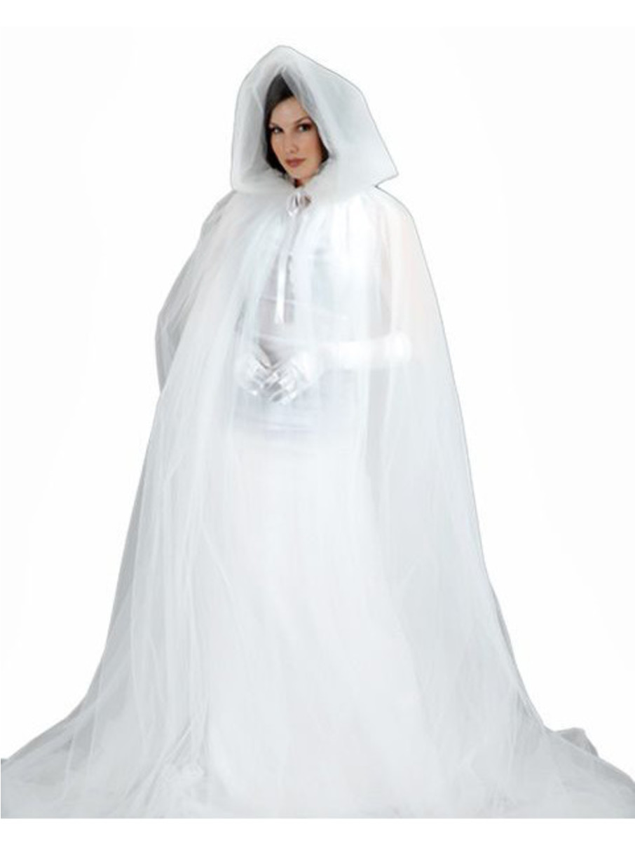 View larger image of Womens Deluxe Ghost Cape