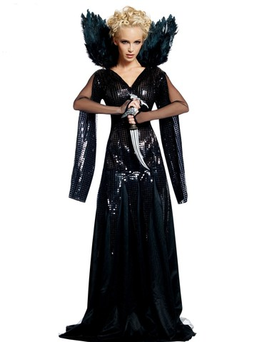 Womens Deluxe Queen Ravenna Adult Costume