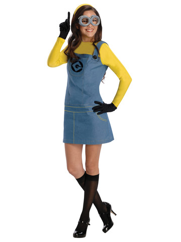 Womens Despicable Me Minion Costume