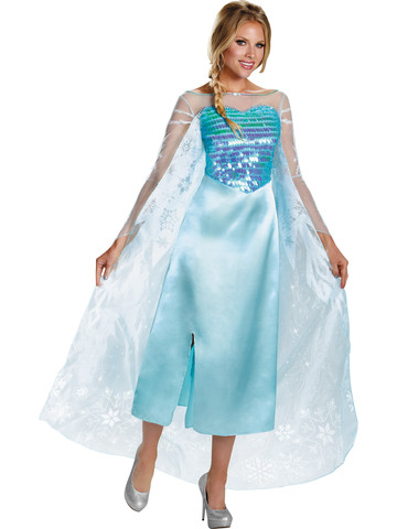 Womens Disney's Frozen Elsa Deluxe Costume