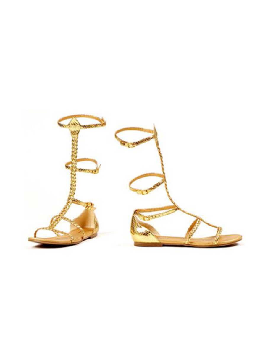 View larger image of Women's Egyptian and Greek Gold Sandals
