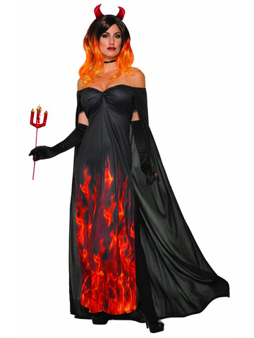 Elegant Devil Womens Costume