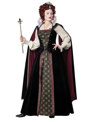 Elizabethan Queen Costume for Women