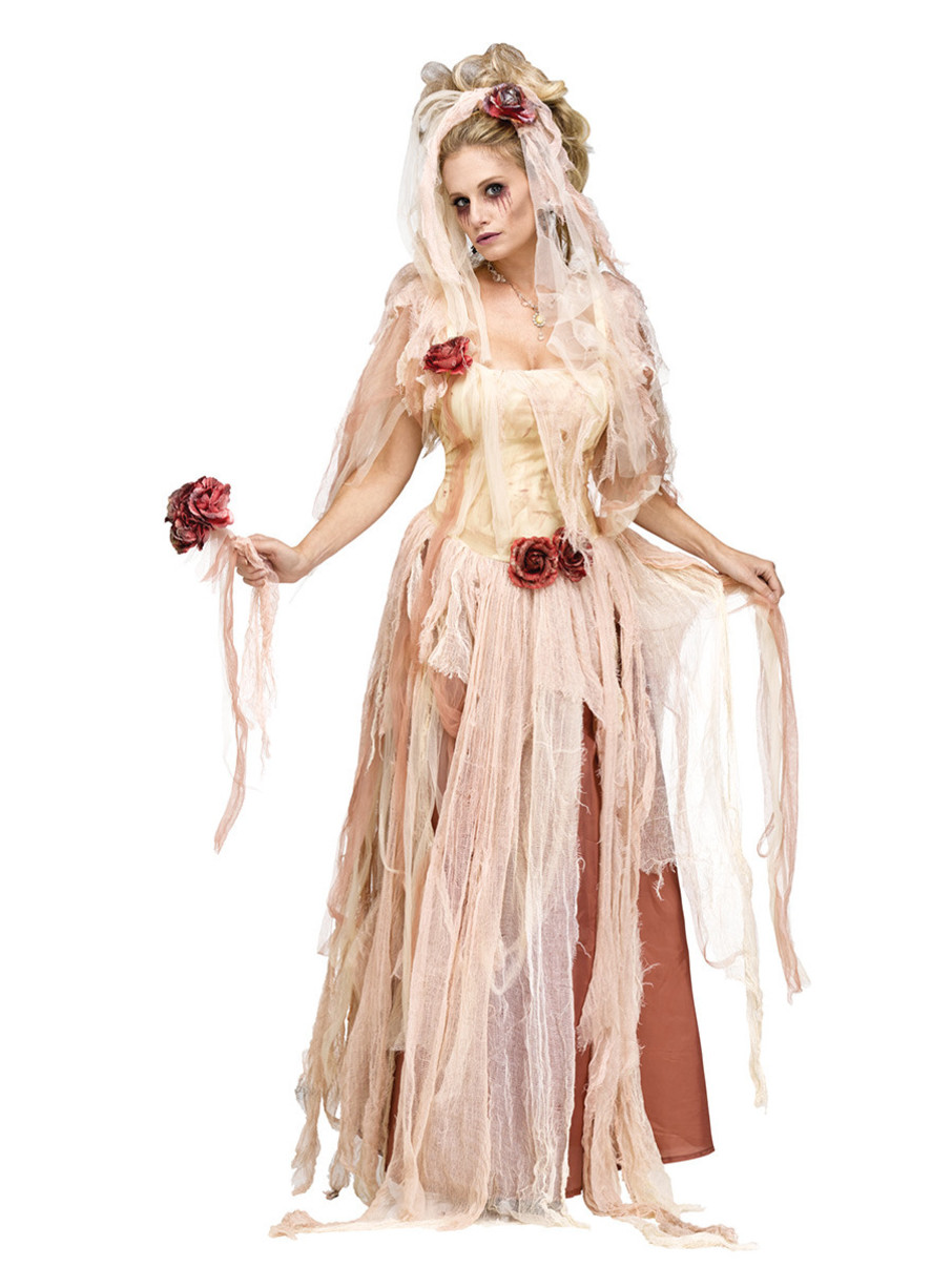 View larger image of Womens Ghostly Bride Costume