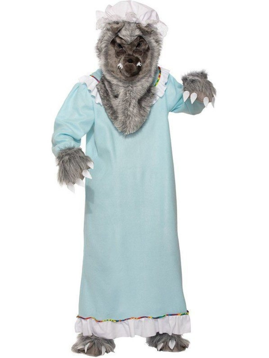 View larger image of Women's Grandma Wolf Adult Costume