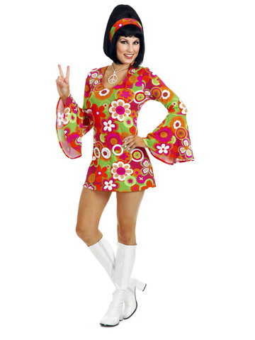 Groovy Flower Girl Costume