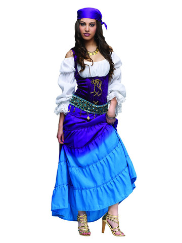 Womens Gypsy Moon Adult Costume