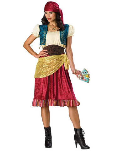 Womens Gypsy Plus Size Costume