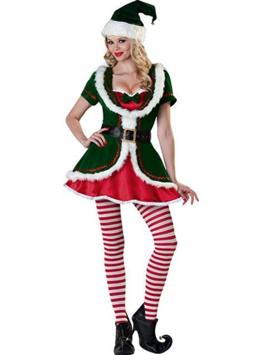 View larger image of Women's Holiday Honey Elf Costume