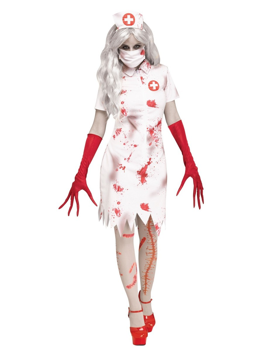 View larger image of Horror Nurse Costume for Women