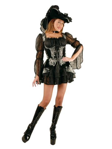 Lacey Pirate Lady Dress