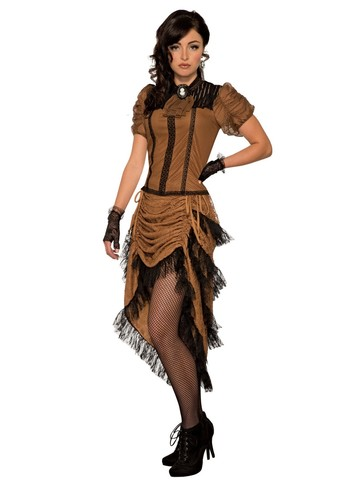 Last Dance Saloon Girl Costume for Women