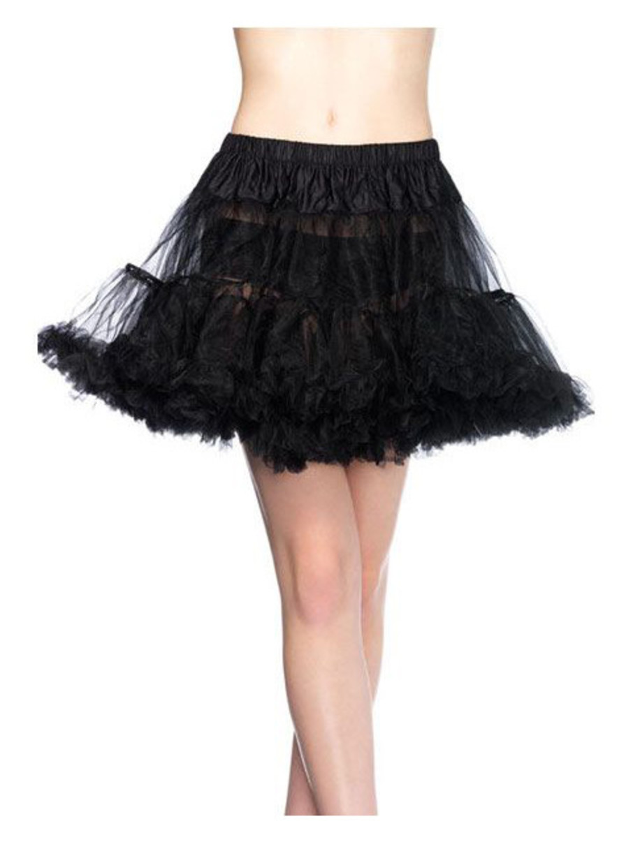 View larger image of Women's Layered Tulle Petticoat - Black