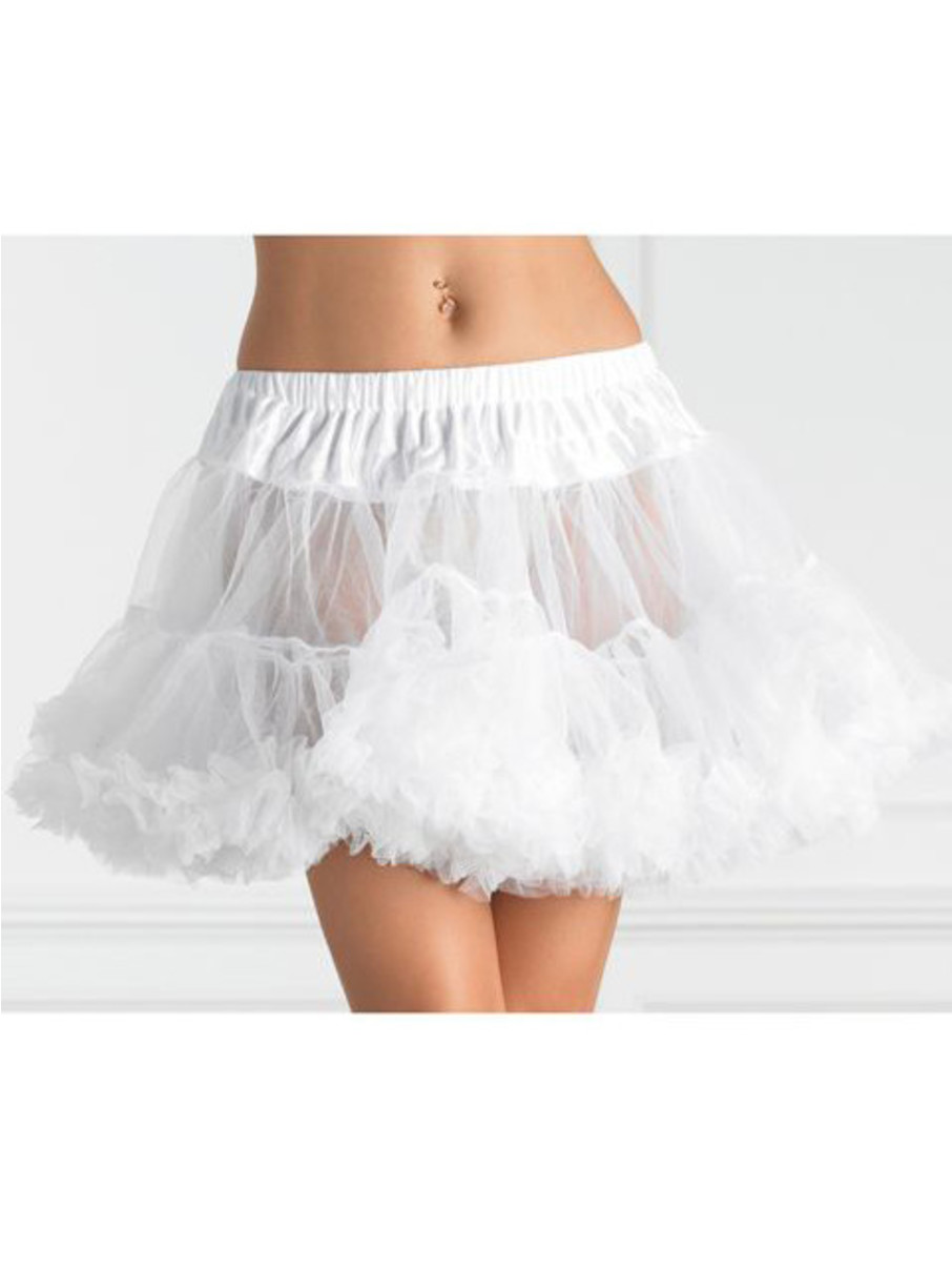 View larger image of Women's Layered Tulle Petticoat - White
