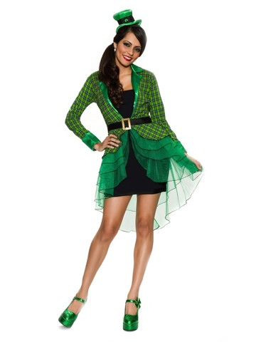 Women's Lucky Lass Costume