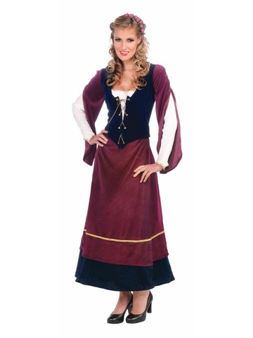 Women's Serving Wench Costume