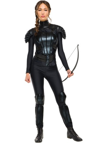 Womens Mockingjay The Hunger Games Katniss Everdeen Costume