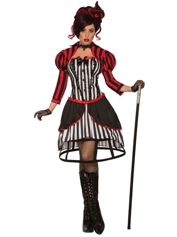 Mystery Circus Madame Womens Costume