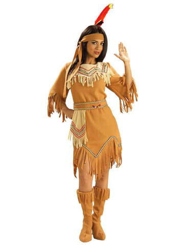 Womens Native American Maiden Costume
