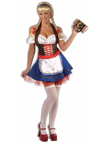 Women's Happy Oktoberfest Fraulein Costume