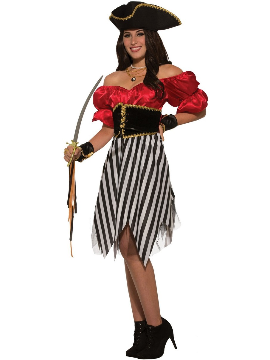 View larger image of Pirate Matey Lady Womens Costume