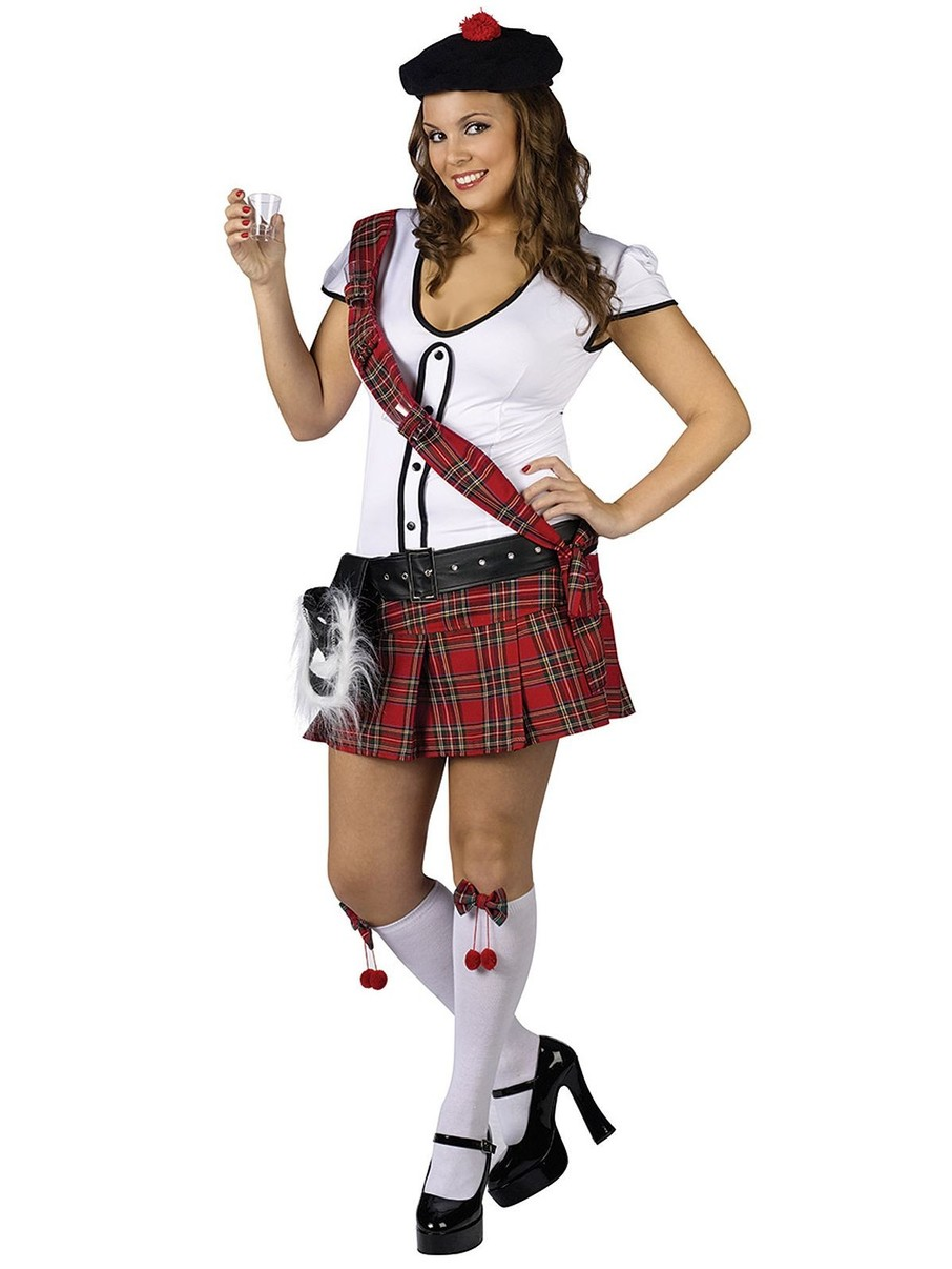 View larger image of Women's Plus Sexy Scottie Hottie Costume